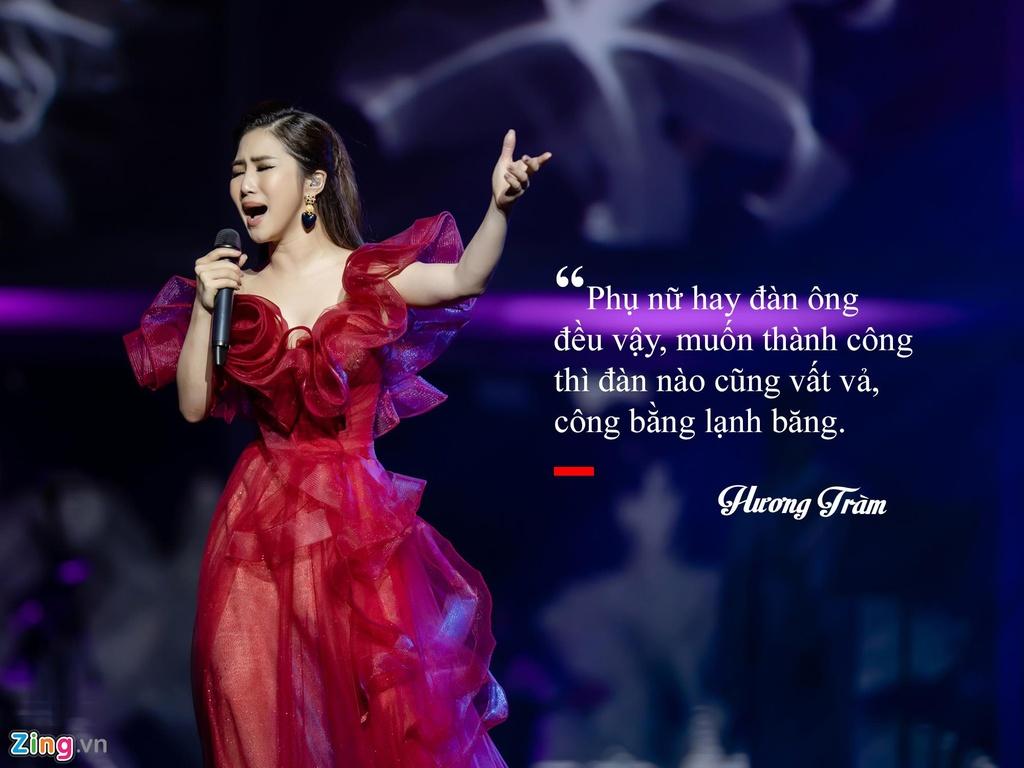 Huong Tram: 'Khong hoi han vi dung ca hat sang My du hoc' hinh anh 6