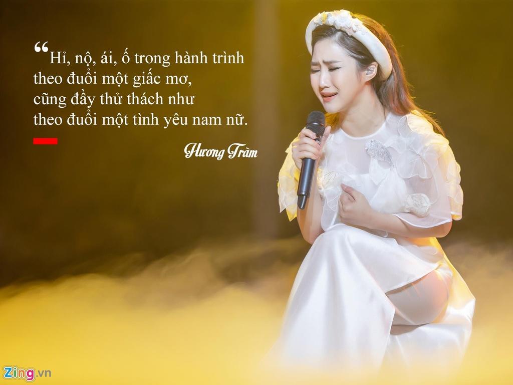 Huong Tram: 'Khong hoi han vi dung ca hat sang My du hoc' hinh anh 8