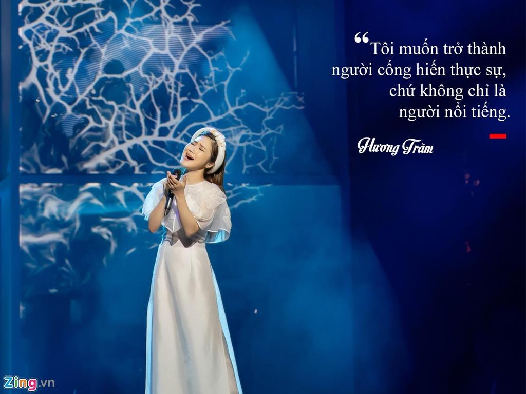 Huong Tram: 'Khong hoi han vi dung ca hat sang My du hoc' hinh anh 9
