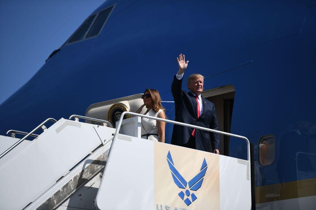 Tong thong Trump toi Hawaii, tham Bo Tu lenh Thai Binh Duong hinh anh 6