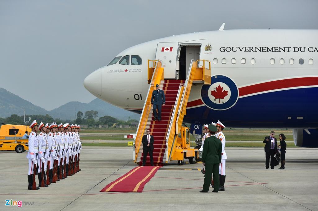 Thu tuong Nguyen Xuan Phuc hoi dam voi Thu tuong Canada Trudeau hinh anh 8