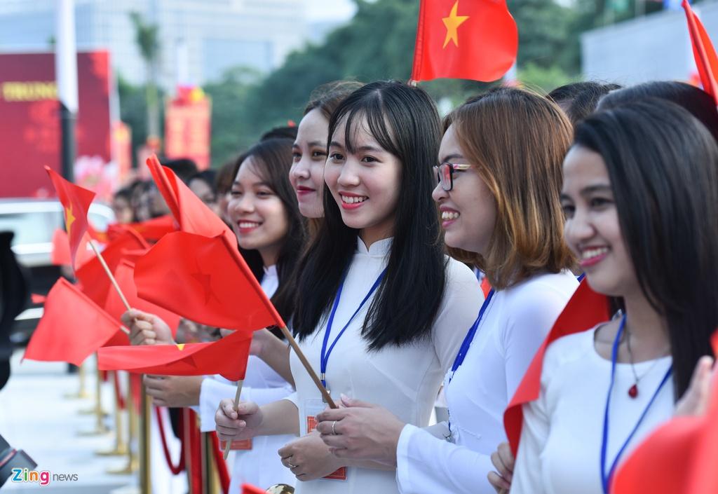 Chu tich Tap Can Binh du le khanh thanh Cung huu nghi Viet - Trung hinh anh 6