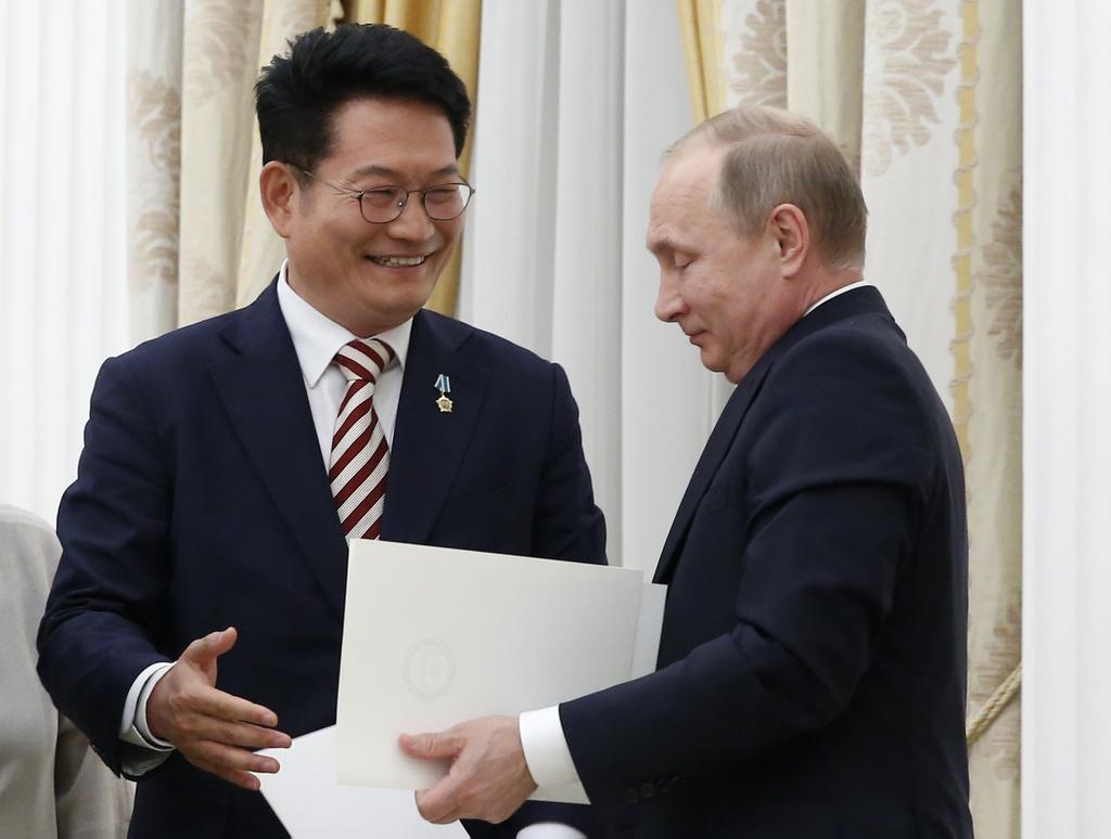 Lam trung gian, Nga co giai duoc cuoc khung hoang Trieu Tien? hinh anh 2