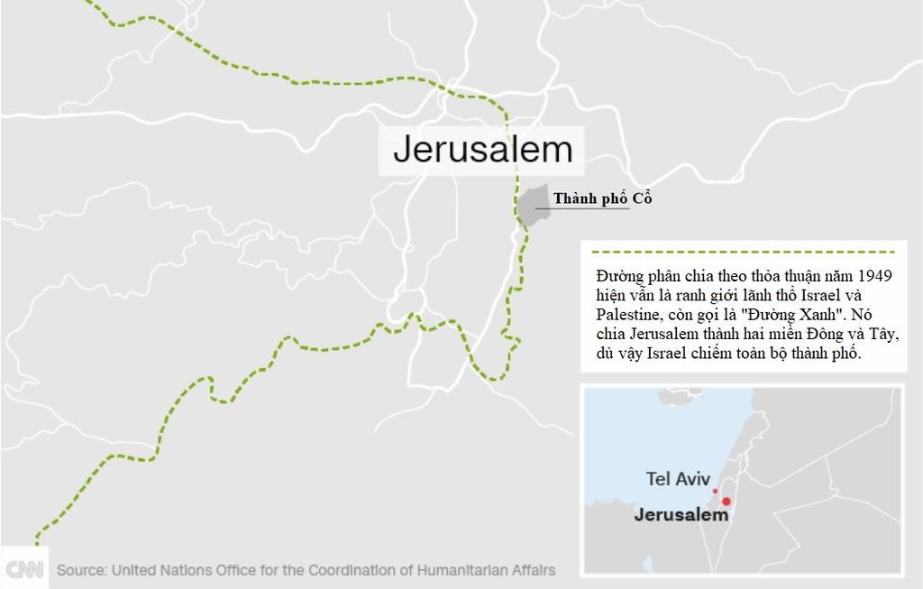 Vi Sao Trump Bat Chap Moi Rui Ro De Cong Nhan Jerusalem? Hinh Anh 1
