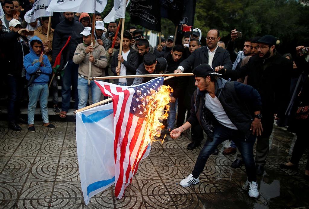 Trump cong nhan Jerusalem anh 1