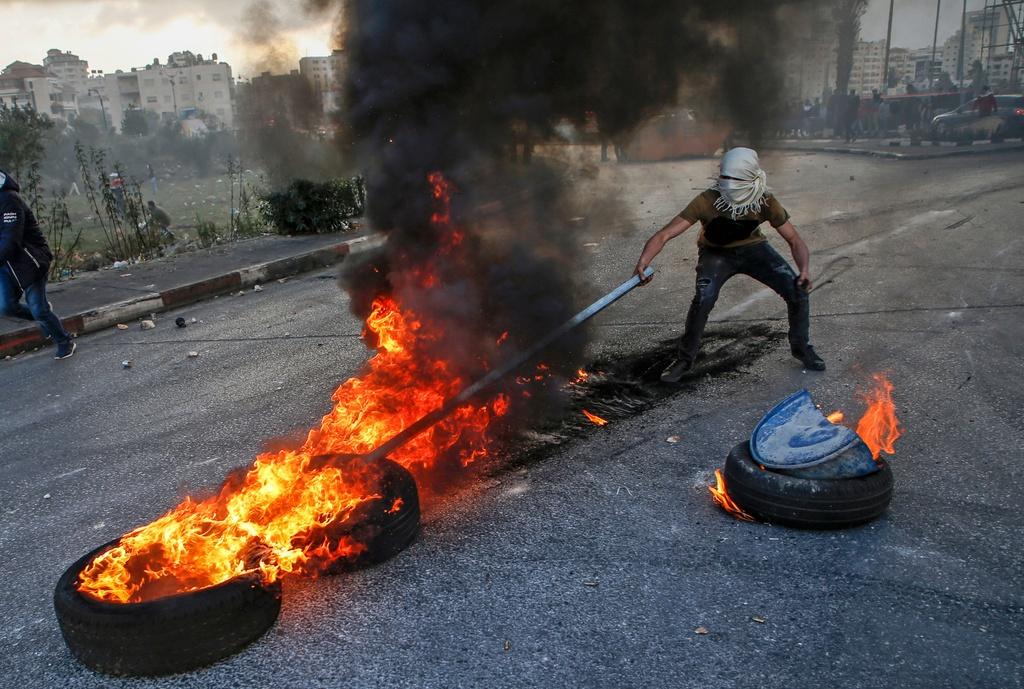 Dung do khoc liet giua Israel va Palestine, 4 nguoi chet hinh anh 2