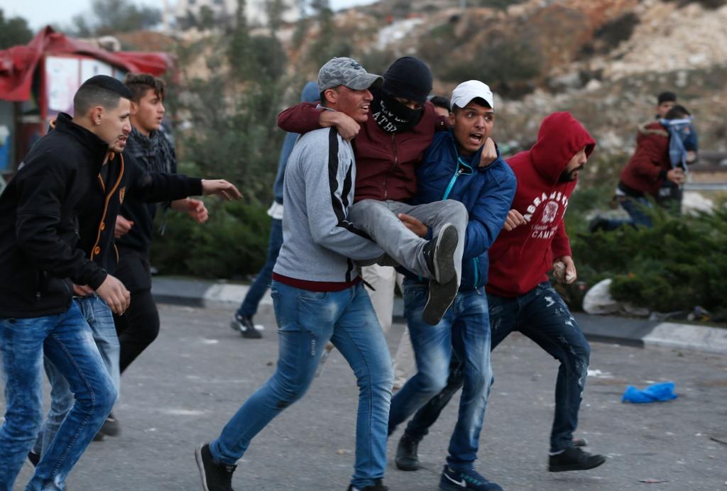 Dung do khoc liet giua Israel va Palestine, 4 nguoi chet hinh anh 4