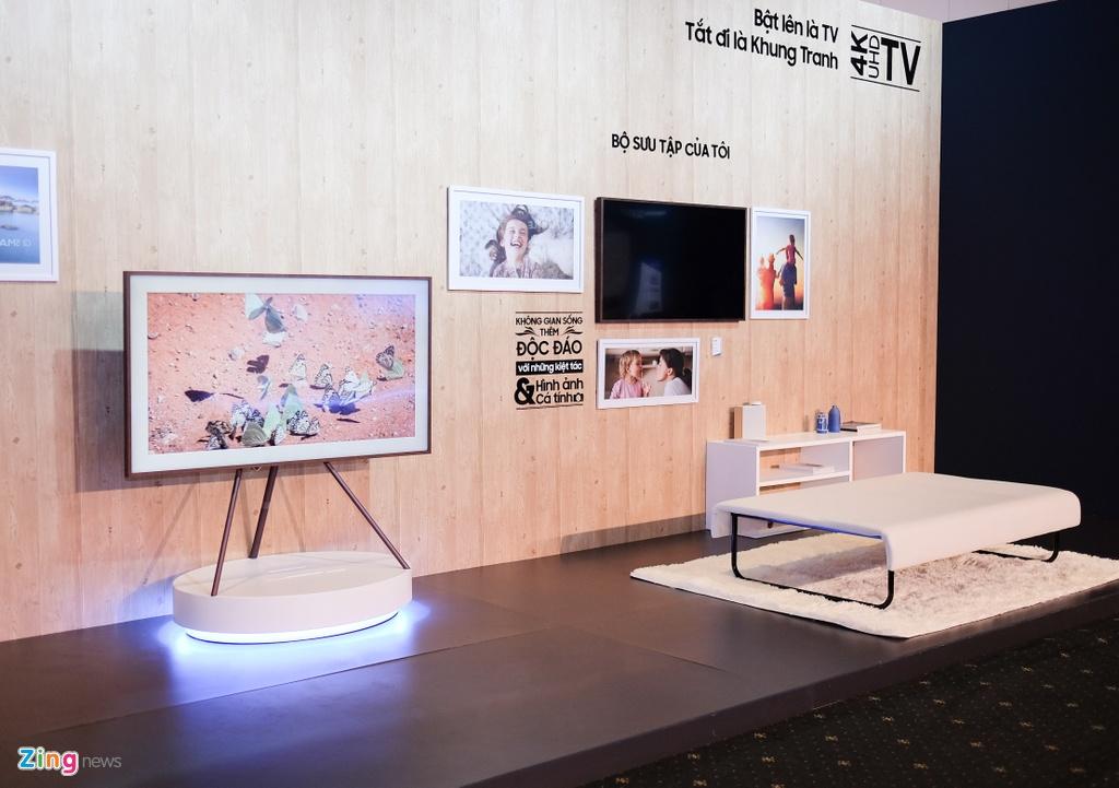 Loat TV QLED 'xuyen thau' cua Samsung ra mat tai Viet Nam hinh anh 9