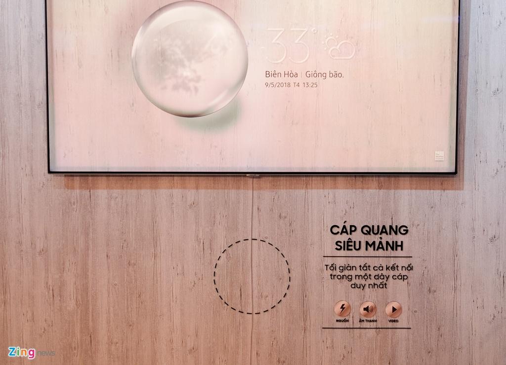 Loat TV QLED 'xuyen thau' cua Samsung ra mat tai Viet Nam hinh anh 4