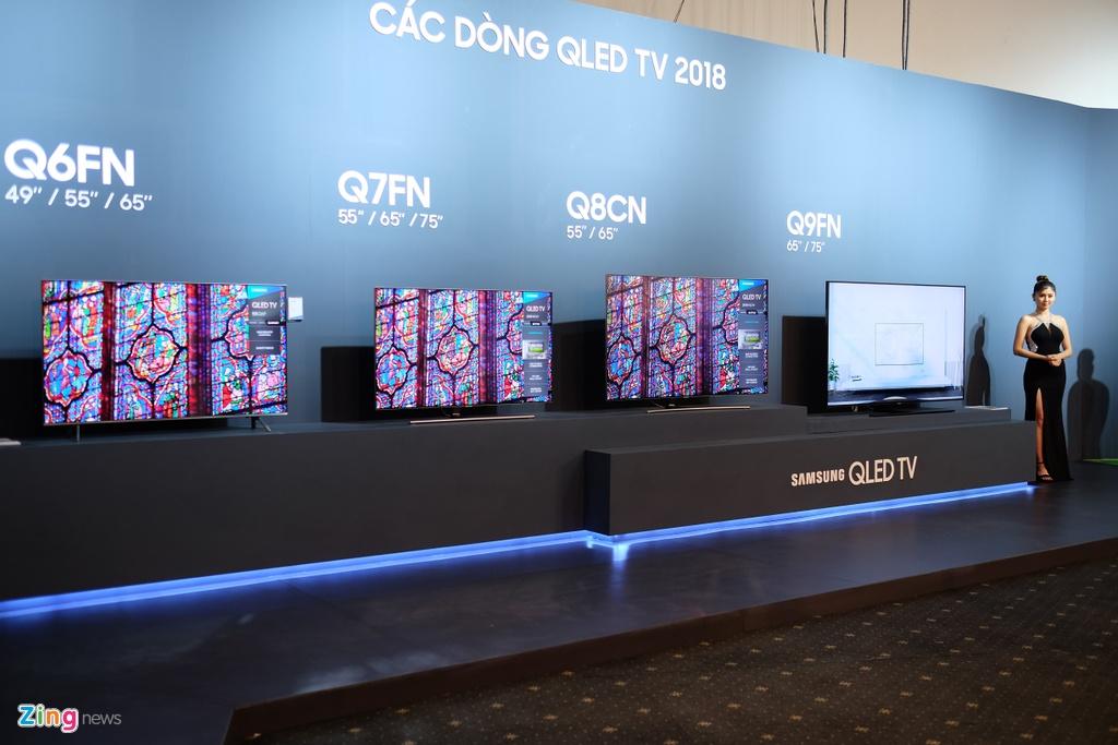 Loat TV QLED 'xuyen thau' cua Samsung ra mat tai Viet Nam hinh anh 1