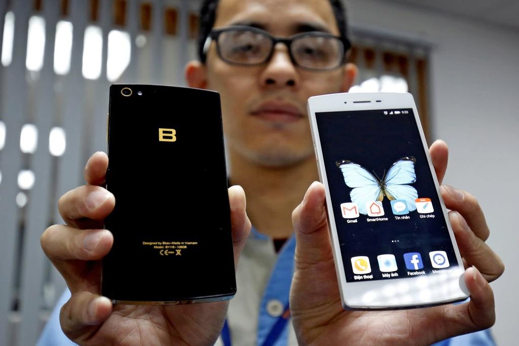 Smartphone Viet canh tranh Samsung anh 2