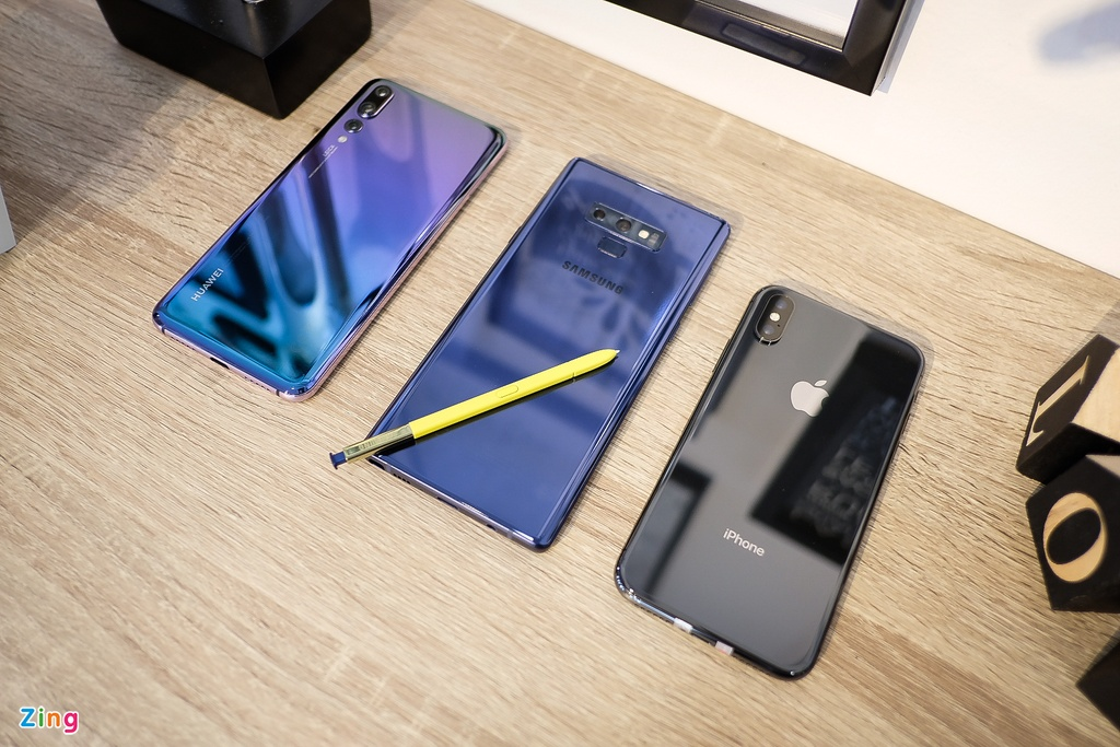 so sanh Note9 iPhone X anh 6
