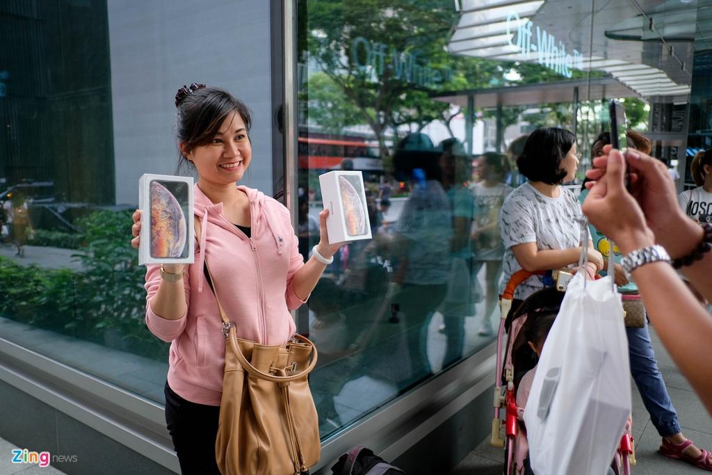 Apple Store thanh 'cho troi' mua ban iPhone XS cua nguoi Viet hinh anh 7