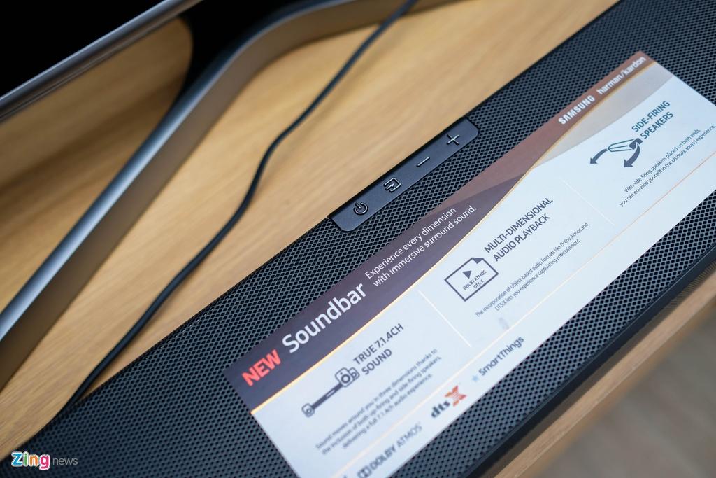 Danh gia Samsung Soundbar N950 - hop cho phim anh tai gia hinh anh 4