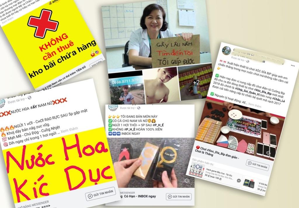 Quang cao doc hai, lua dao tran lan Facebook o Viet Nam hinh anh 2