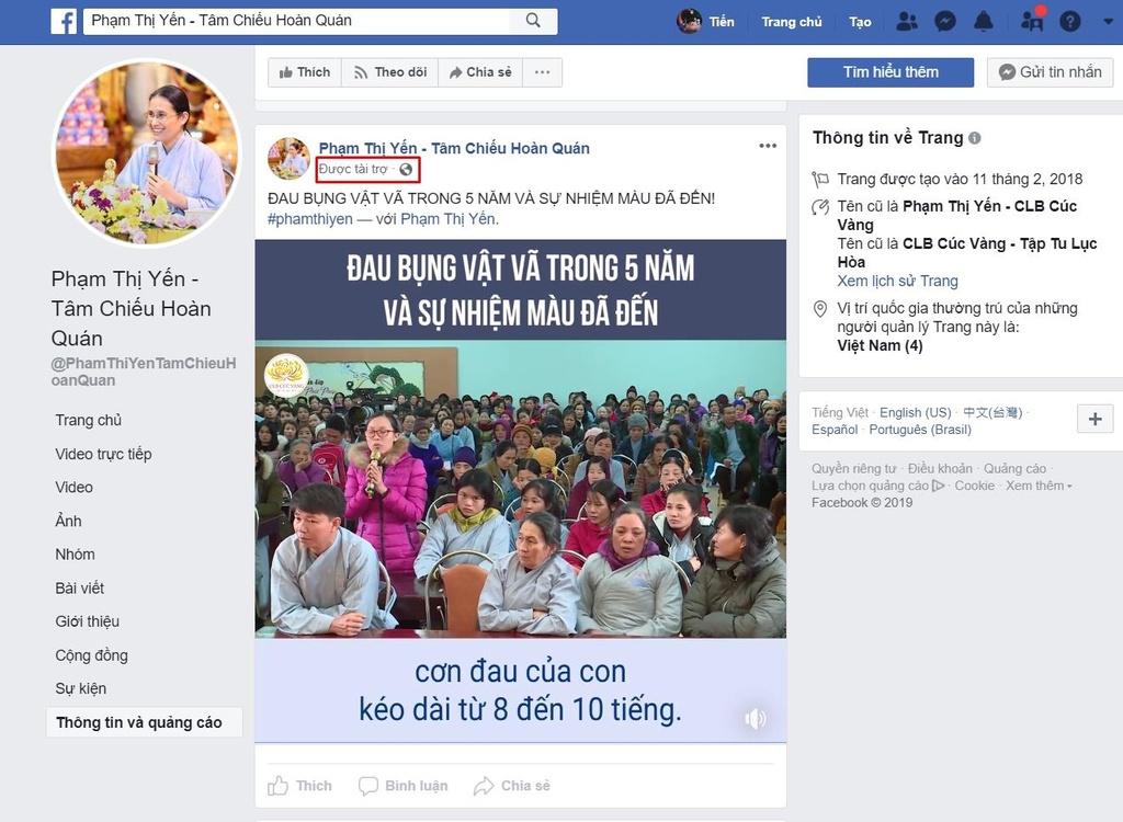 facebook chua ba vang anh 2