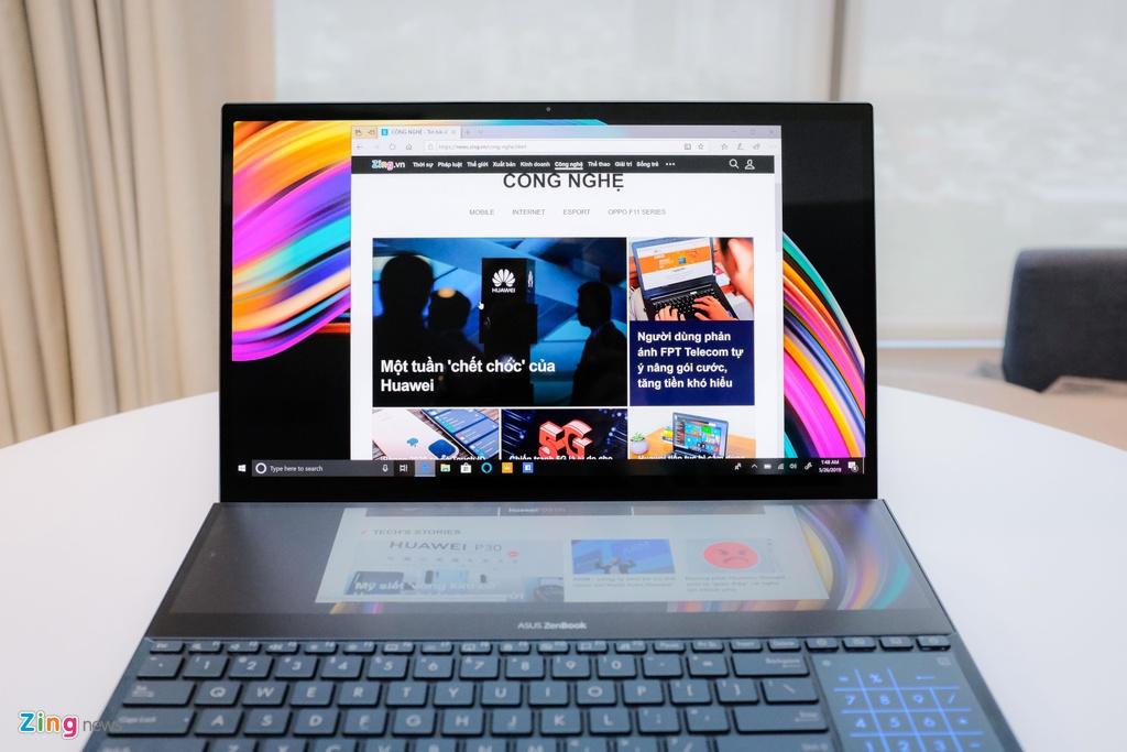 Day la laptop 2 man hinh 4K, chip Core i9 dau tien tren the gioi hinh anh 4