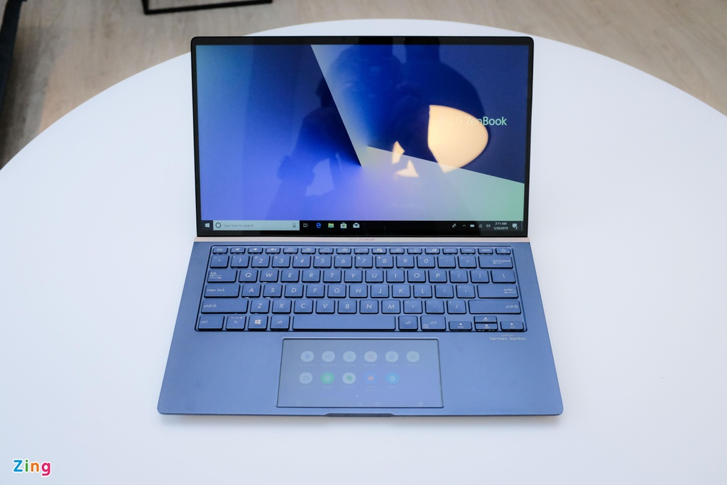 Anh chi tiet Asus New Zenbook - laptop co touchpad thu vi hinh anh 2