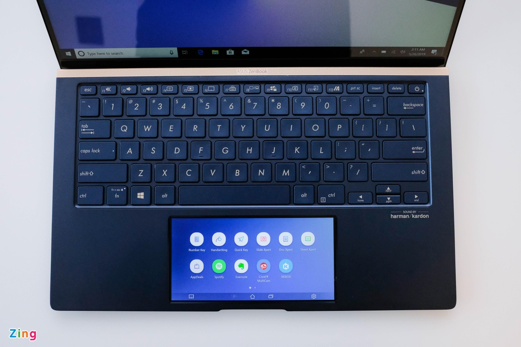 Anh chi tiet Asus New Zenbook - laptop co touchpad thu vi hinh anh 11