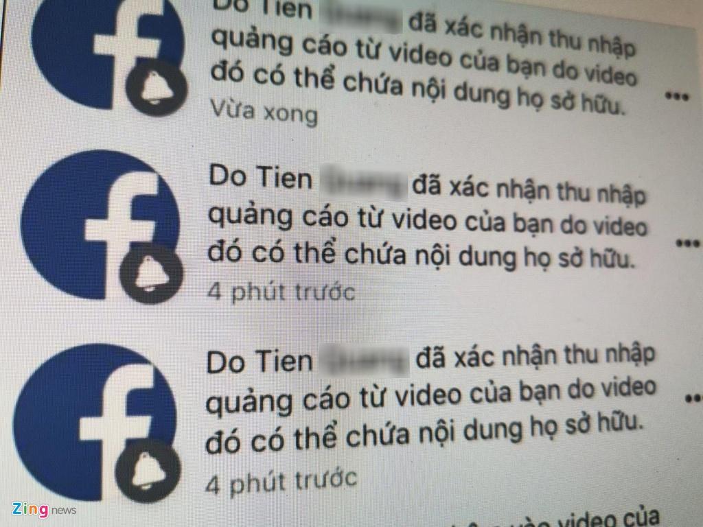 Công cụ bản quyền của Facebook bị lợi dụng để nhận vơ bản quyền.