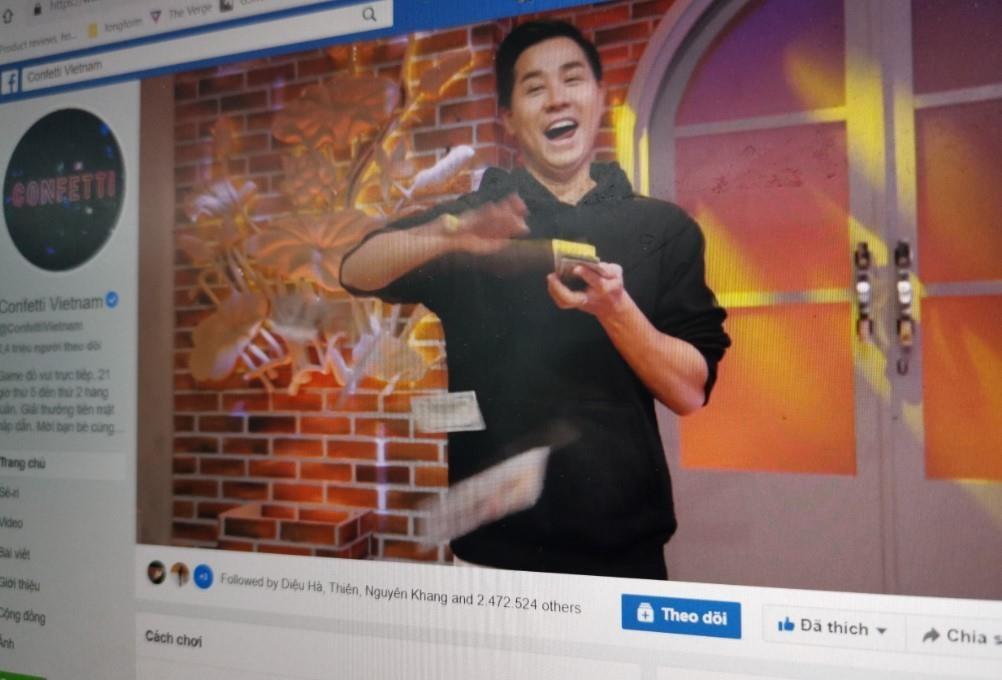 Confetti là phát súng mở màn cho Facebook Watch tại Việt Nam.