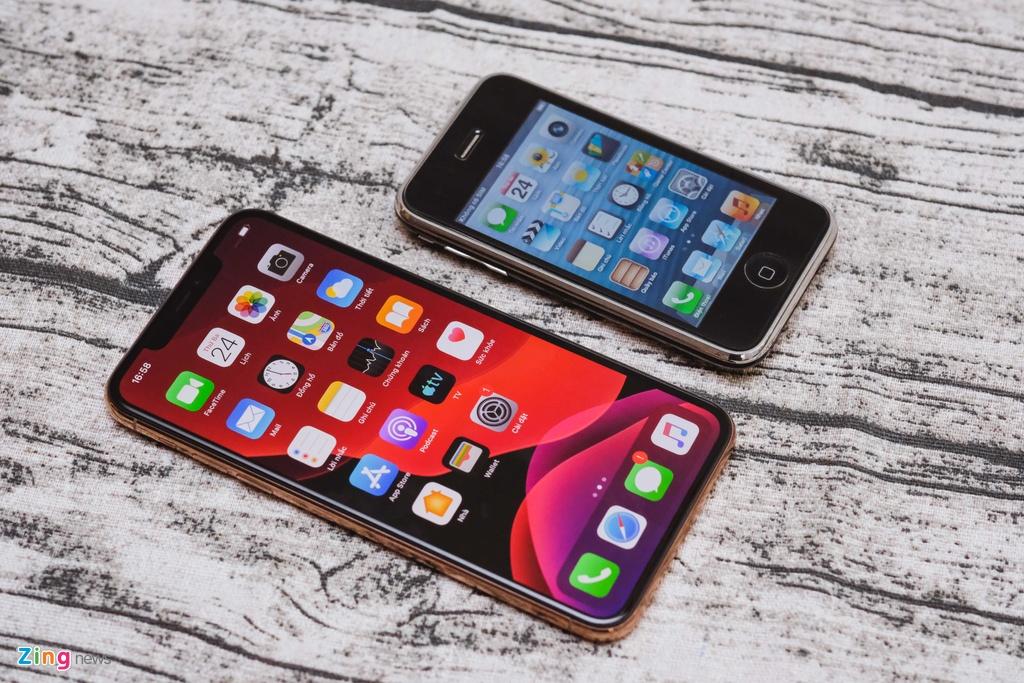 iPhone 11 Pro Max vs iPhone 3GS - qua nhieu thay doi sau 10 nam hinh anh 8