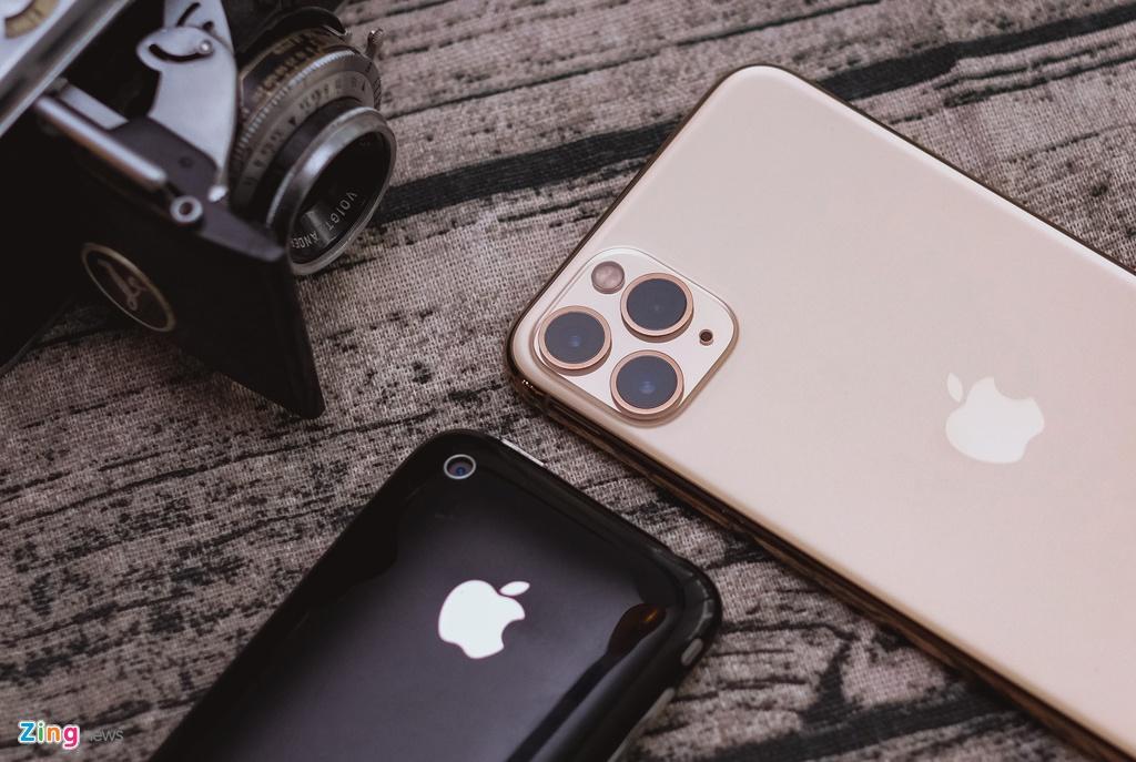 iPhone 11 Pro Max vs iPhone 3GS - qua nhieu thay doi sau 10 nam hinh anh 7