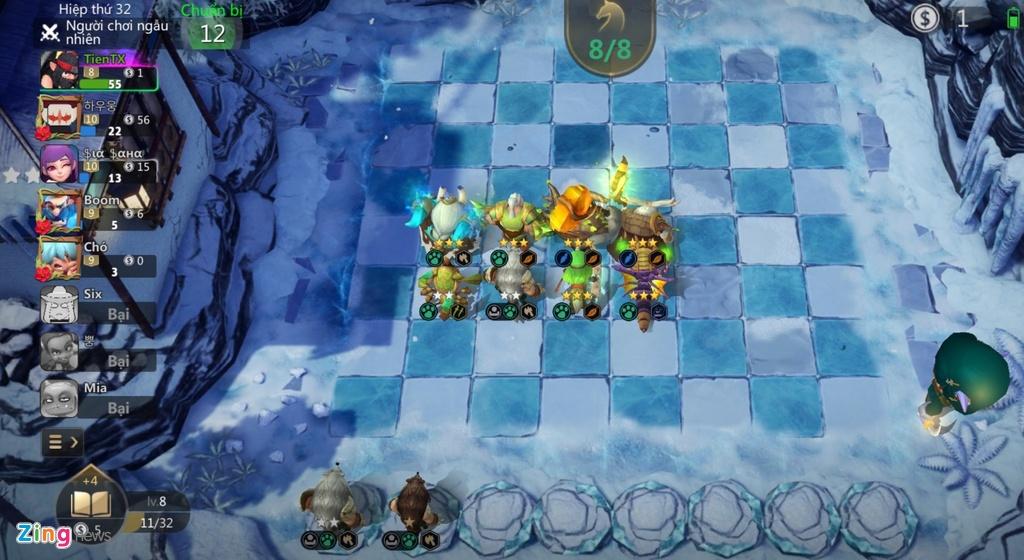Meo choi game Auto Chess Viet Nam cho nguoi bat dau hinh anh 1