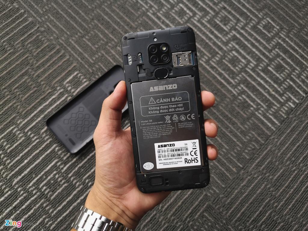 Asanzo ra mat smartphone gia 2,5 trieu dong hinh anh 6