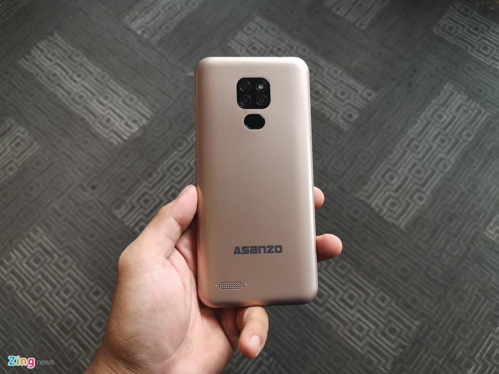 Asanzo ra mat smartphone gia 2,5 trieu dong hinh anh 1