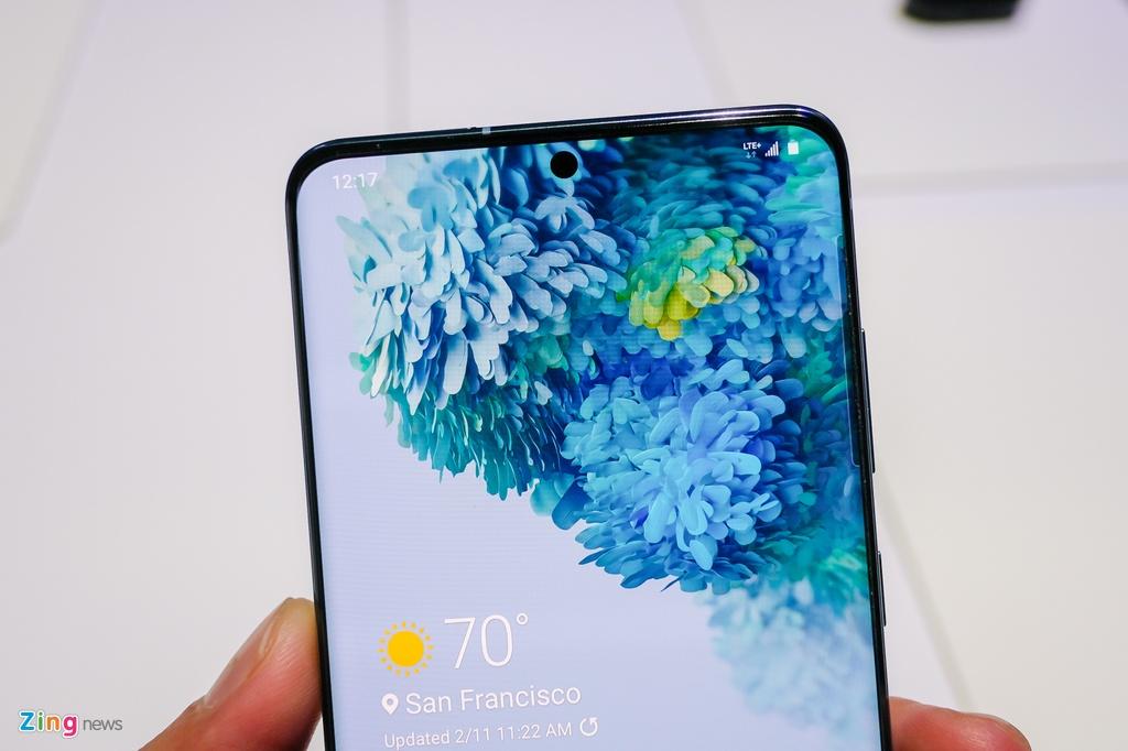 Chi tiet Galaxy S20 - den luc Samsung toi uu tung trai nghiem hinh anh 5 galaxy_s20_zing_3052.jpg