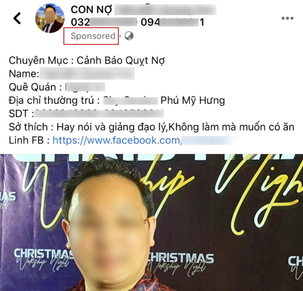tay chay quang cao Facebook anh 3