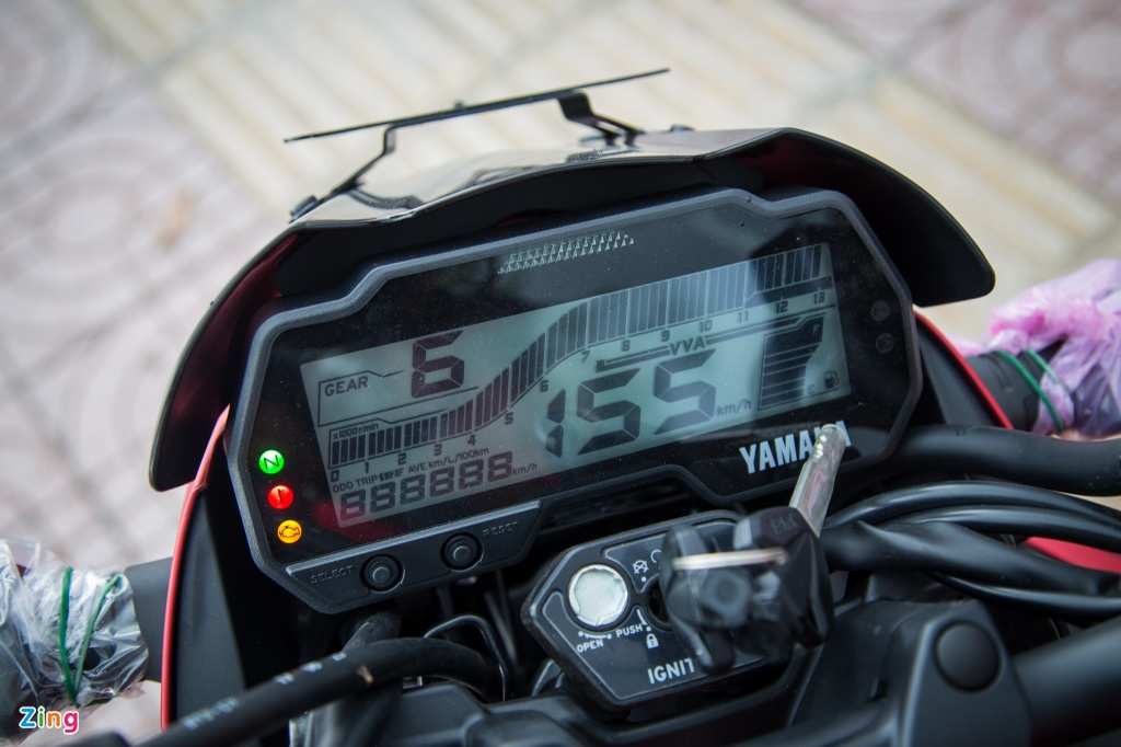 Yamaha FZ150i 2017 dau tien ve Viet Nam hinh anh 5
