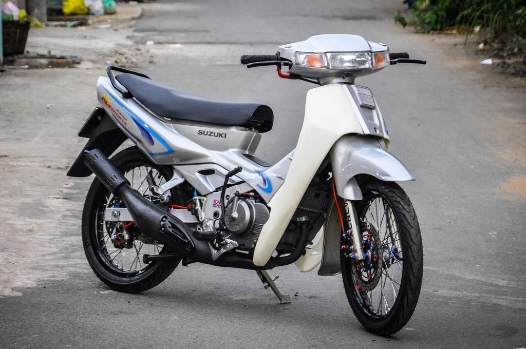 Suzuki 'xi po' do 200 trieu tien do choi tai Can Tho hinh anh 1