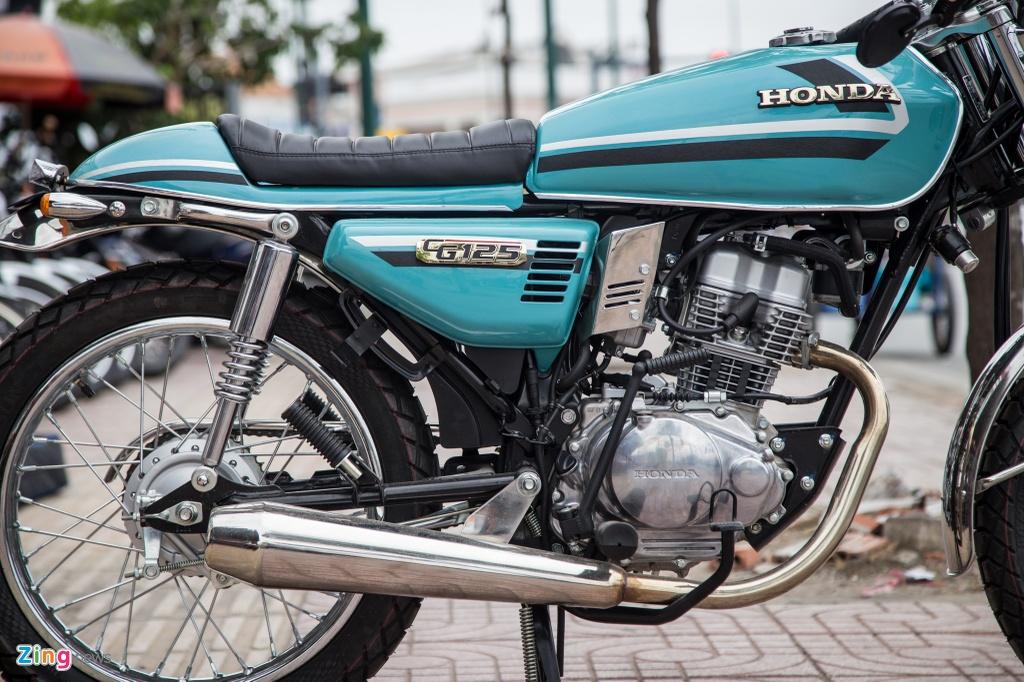 Honda CG125 Cafe racer anh 8