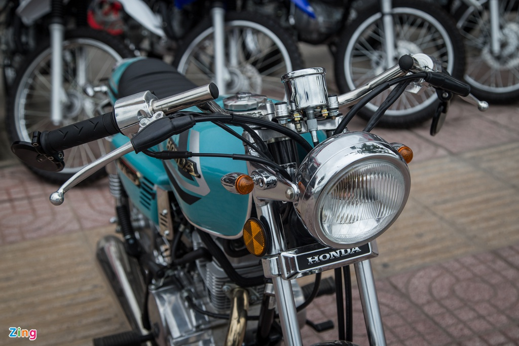 Honda CG125 Cafe racer anh 3