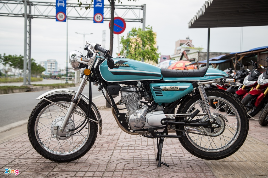 Honda CG125 Cafe racer anh 1