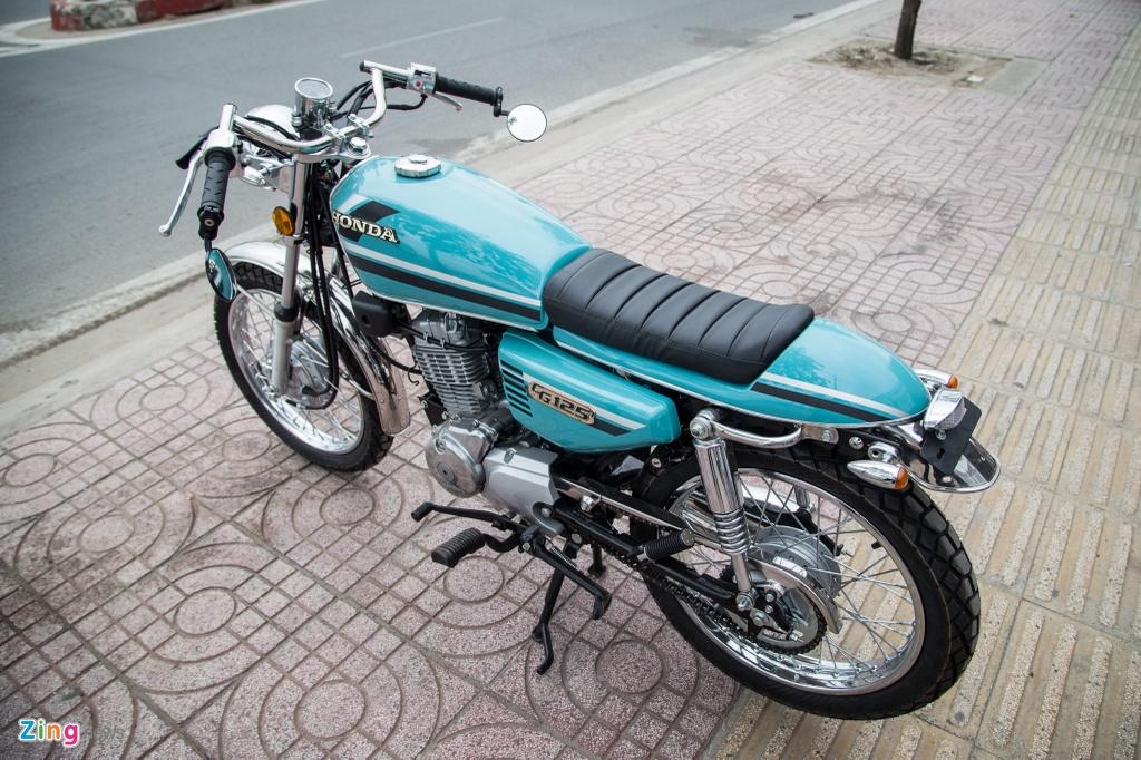 Honda CG125 Cafe racer anh 6