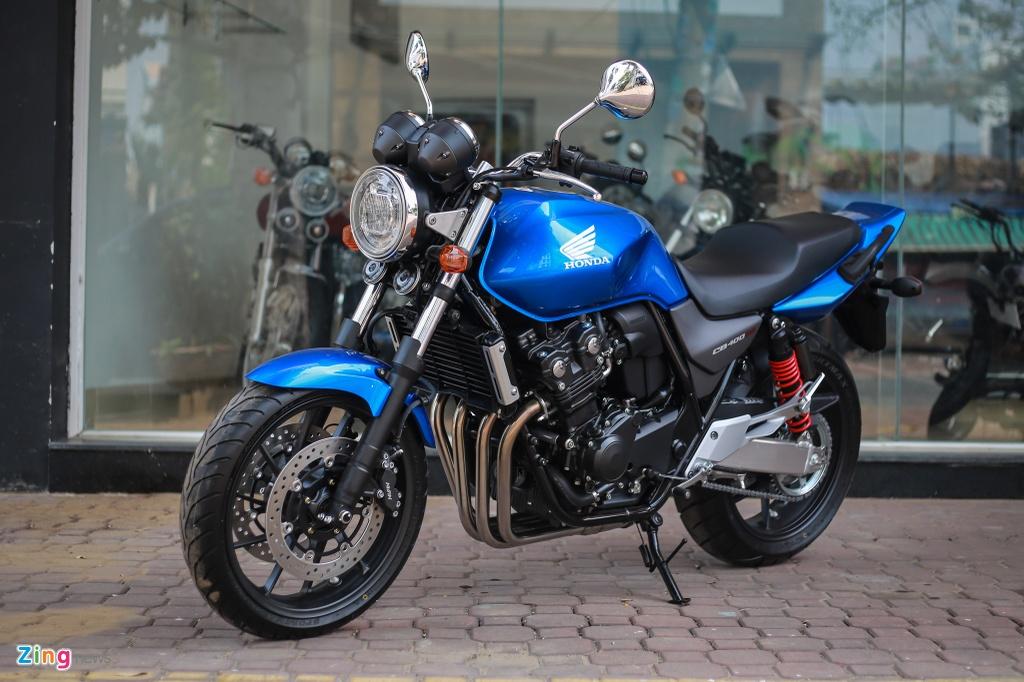 Honda CB400 SF 25th Anniversary gia tu 389 trieu dong tai VN hinh anh 1