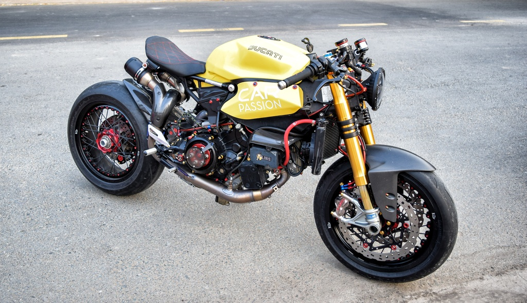 Ducati Panigale 1199 S do cafe racer ve tay dai gia Sai Gon hinh anh 1