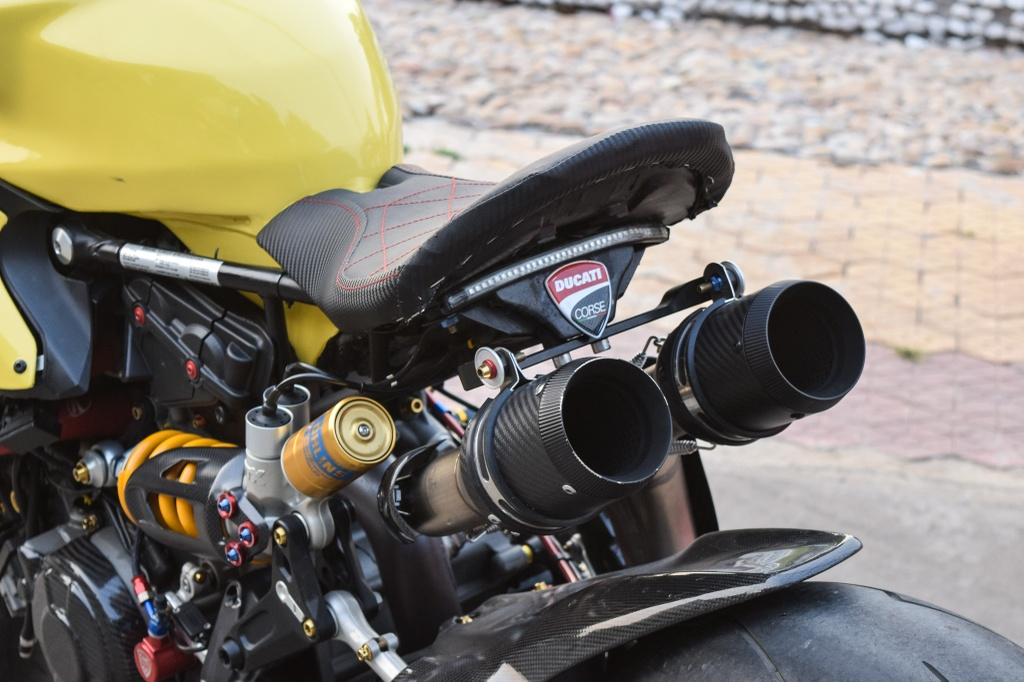 Ducati Panigale 1199 S do cafe racer ve tay dai gia Sai Gon hinh anh 8