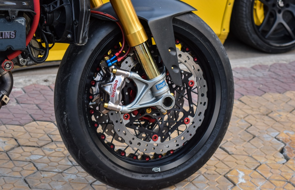 Ducati Panigale 1199 S do cafe racer ve tay dai gia Sai Gon hinh anh 6