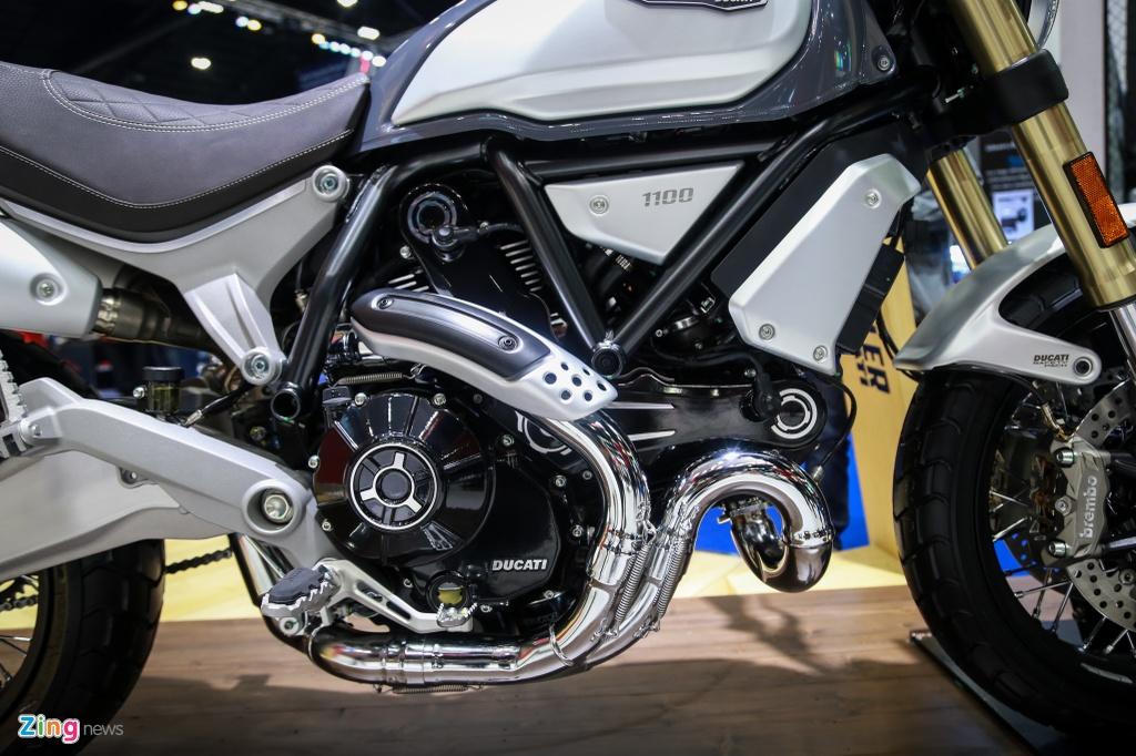 Ducati Scrambler 1100 ra mat anh 8