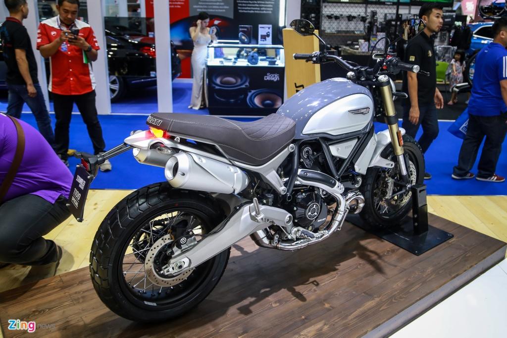 Ducati Scrambler 1100 ra mat anh 9