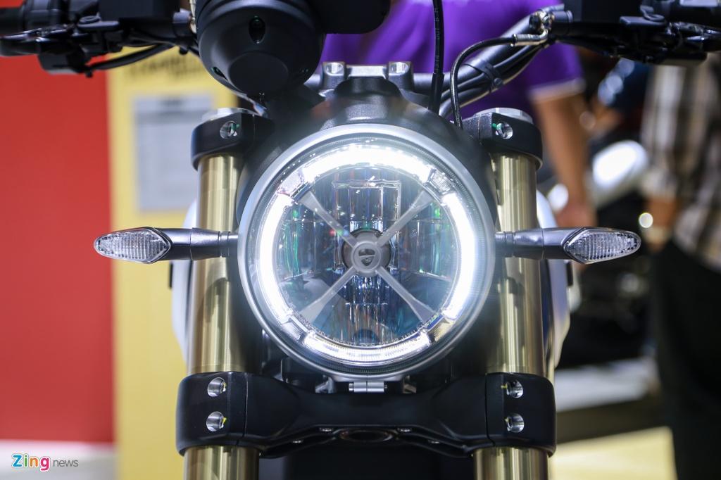 Ducati Scrambler 1100 ra mat anh 3