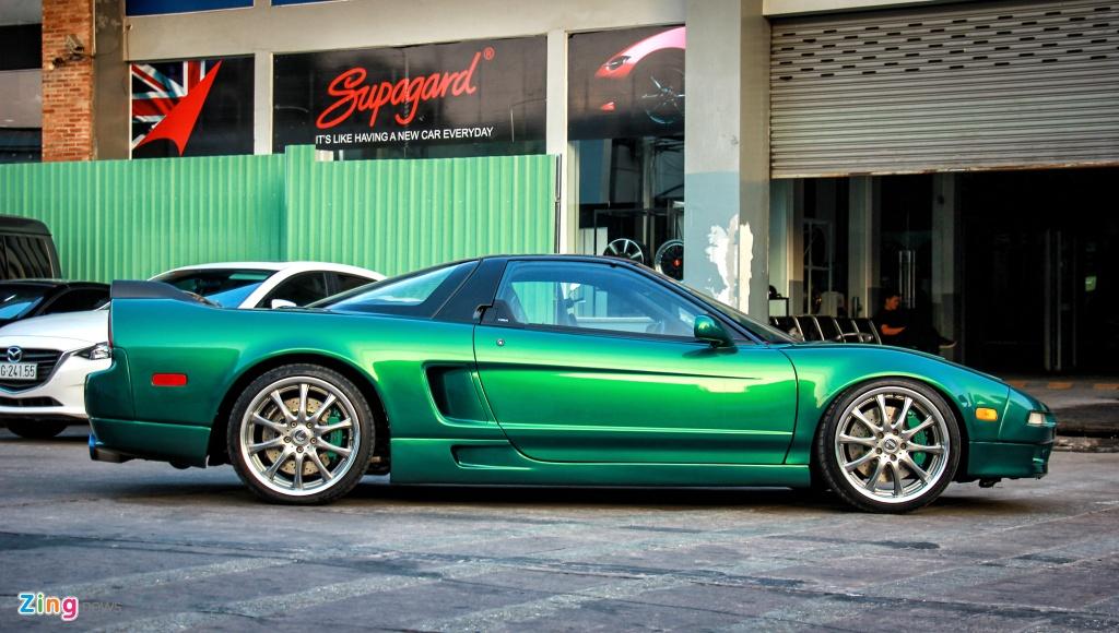 Huyen thoai Acura NSX doi 1991 'hang hiem' tai Viet Nam hinh anh 4