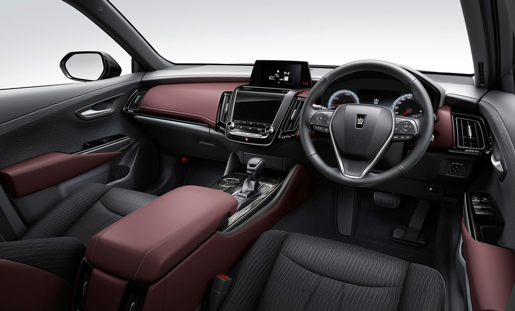Toyota Crown 2018 - khi hang binh dan san xuat sedan hang sang hinh anh 9
