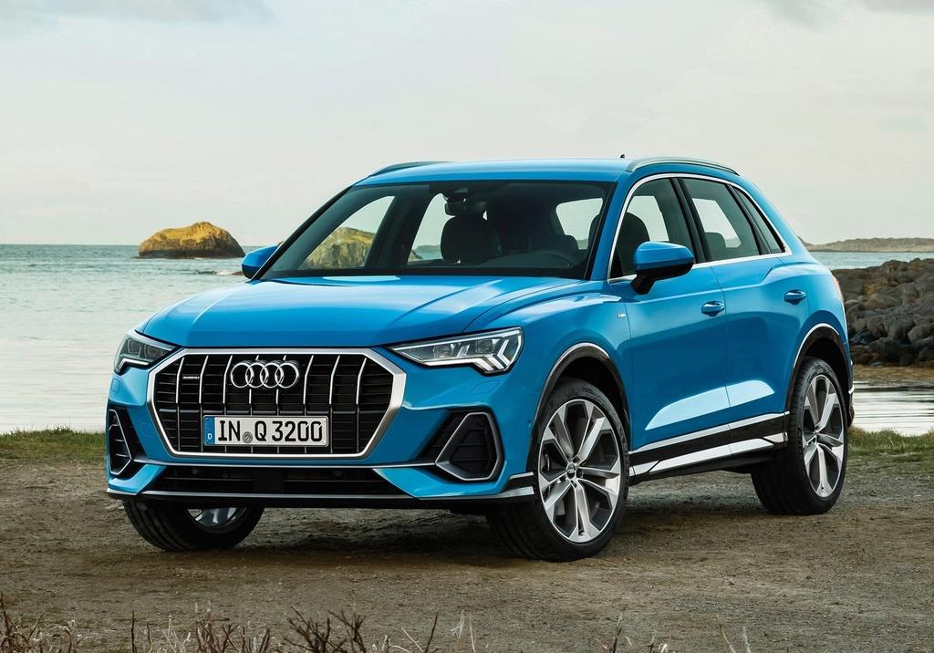 Audi Q3 2019 ra mat - thiet ke hoan toan moi, doi thu Mercedes GLA hinh anh 1