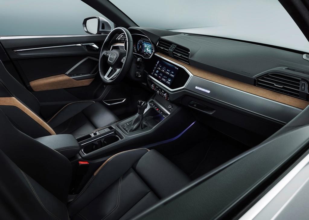 Audi Q3 2019 ra mat - thiet ke hoan toan moi, doi thu Mercedes GLA hinh anh 7
