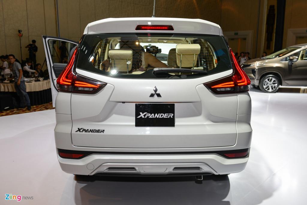 Anh Mitsubishi Xpander: Gia tot, thiet ke dep, dong co nho hinh anh 7